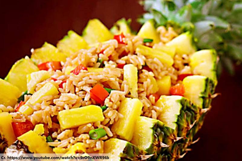 ข้าวอบสับปะรด, thaifood