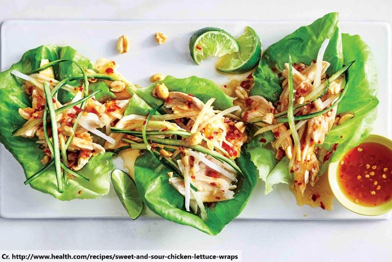 Rotisserie Chicken Lettuce, Spicy Food