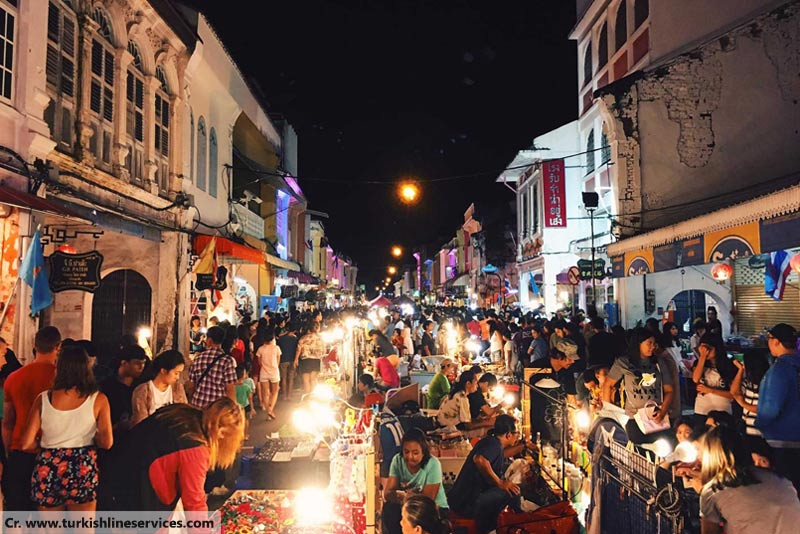 Phuket Town Walking Street, ถนนคนเดินภูเก็ต, Walking Street in Phuket