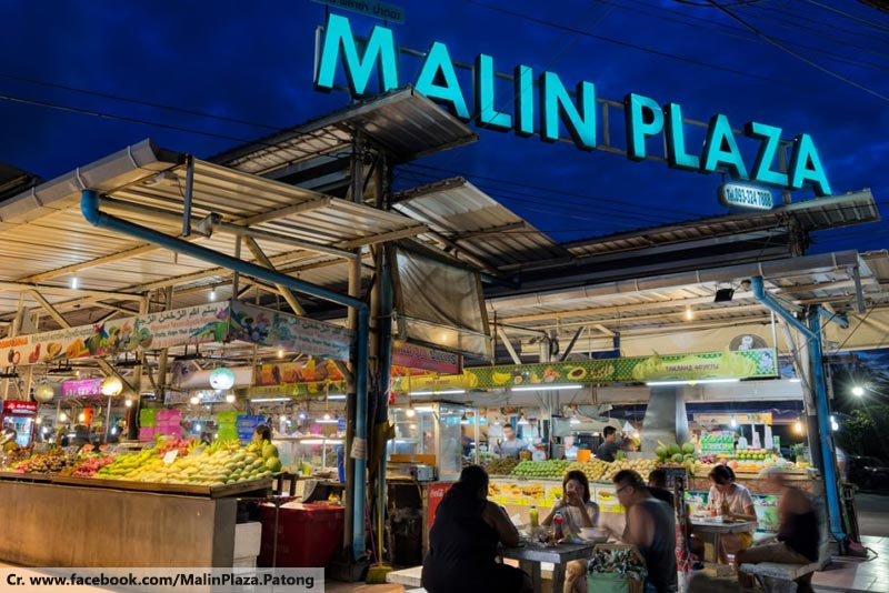 Malin Plaza Patong, Night Market in Phuket, Phuket Street Food