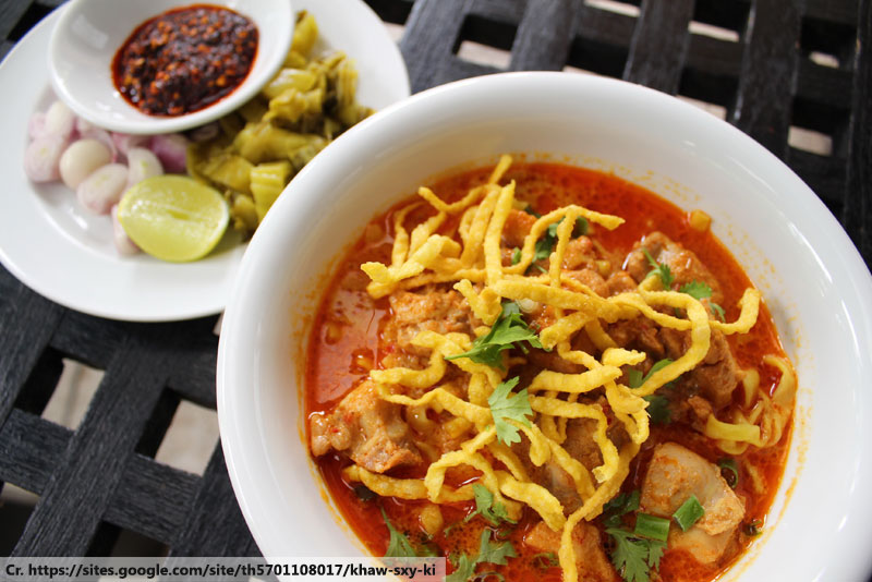 ข้าวซอย, Khao soy, Northern Thai Dishes
