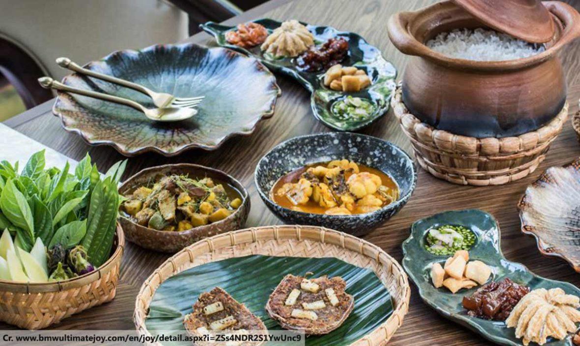 Northern Thai Dishes, Thai food