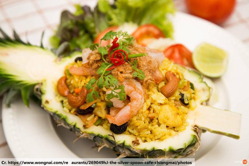 Pineapple Fried Rice, Phuket Thai Cooking