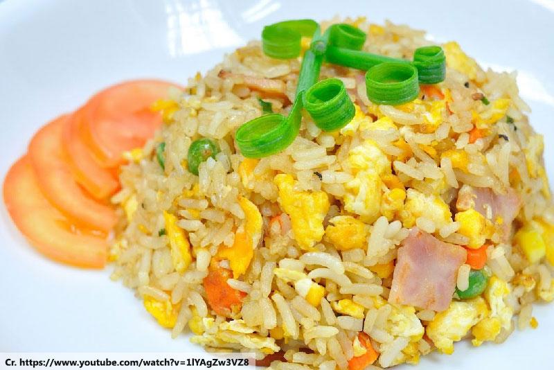 Khao Pad Phuket, Fried rice