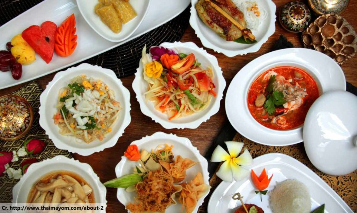 Thai Food Tastes, Food in Thailand