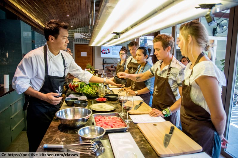 Positive Kitchen by Chef Noi, Thai cooking class