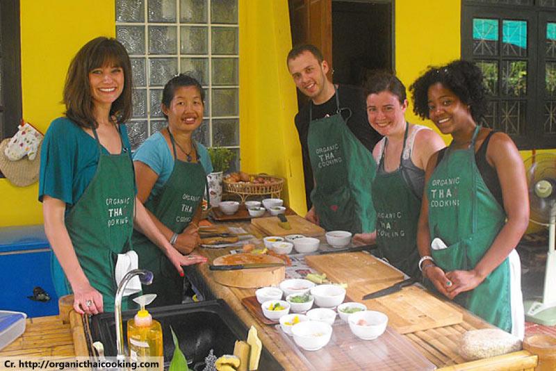Organic Thai Cooking School, Thai Cooking Class