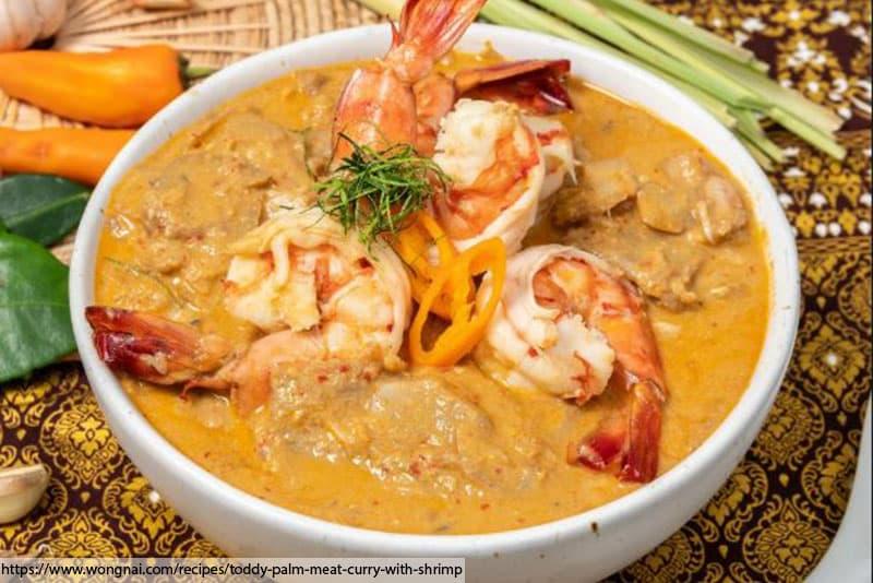อาหารไทย, ร้านอาหารไทยในภูเก็ต, อาหารไทยสูตรดั้งเดิม, original thai food,แกงคั่วหัวตาลกุ้งสด
