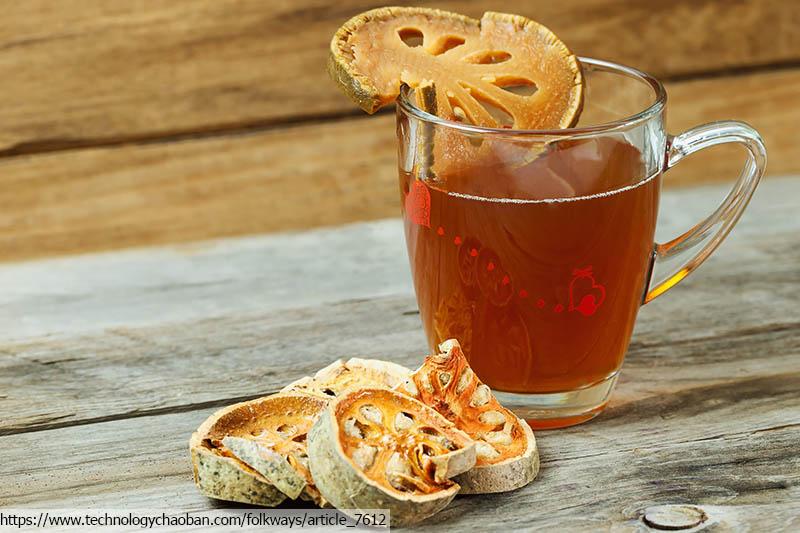 อาหารไทย, น้ำสมุนไพร, สมุนไพรเพื่อสุขภาพ, healthy drinks, น้ำมะตูม