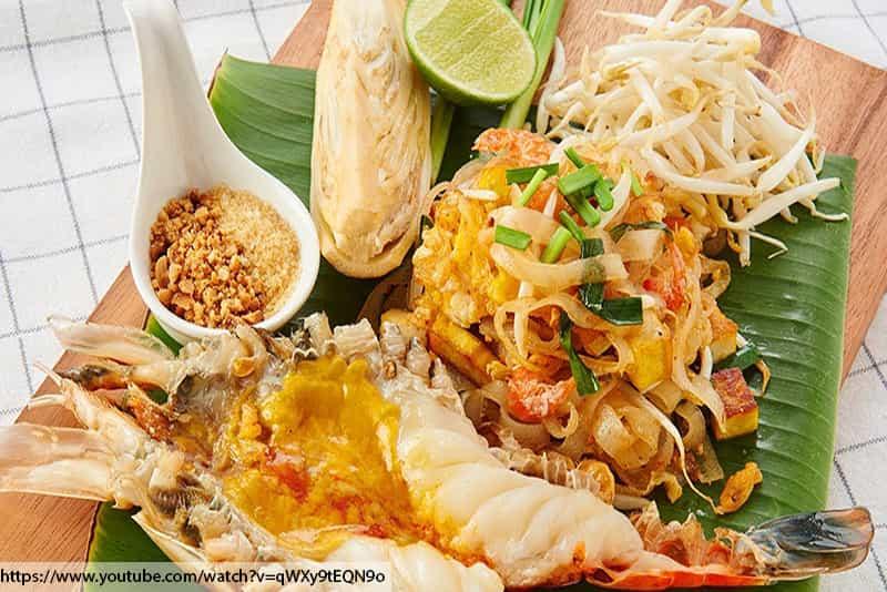 ร้านอาหารไทยในภูเก็ต, กุ้งแม่น้ำ , ผัดไทยกุ้งแม่น้ำ