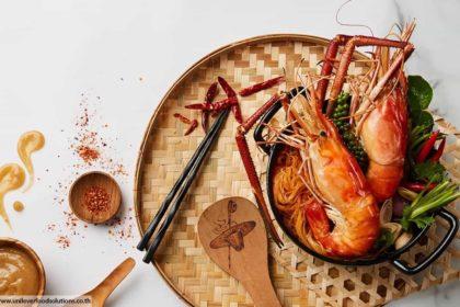 River prawn , ร้านอาหารไทยในภูเก็ต , กุ้งแม่น้ำ