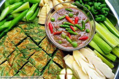 อาหารไทย, น้ำพริกกะปิ, thai food, Phuket Restaurant