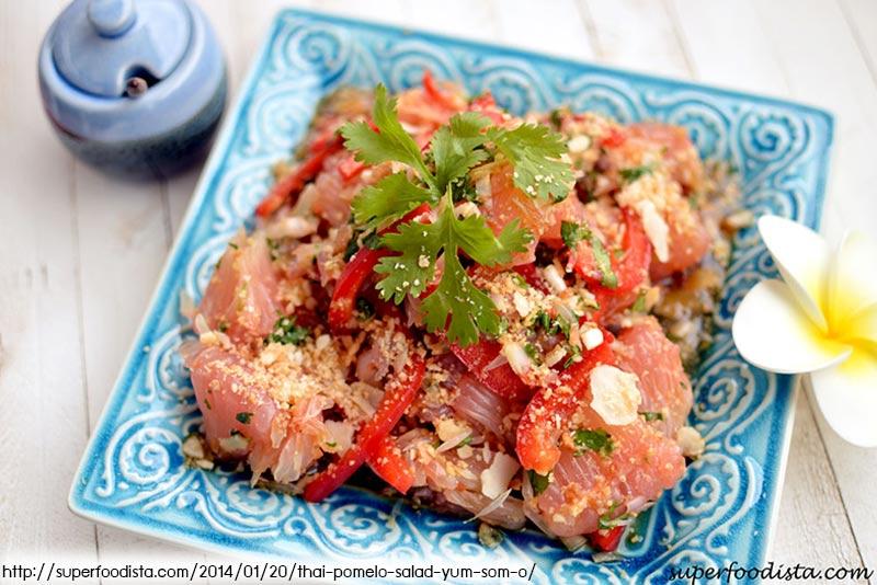 อาหารไทย, ร้านอาหารไทยในภูเก็ต, ยำส้มโอ, pomelo salad